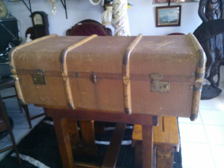 Old Wooden Trunk | Bluff | Gumtree South Africa