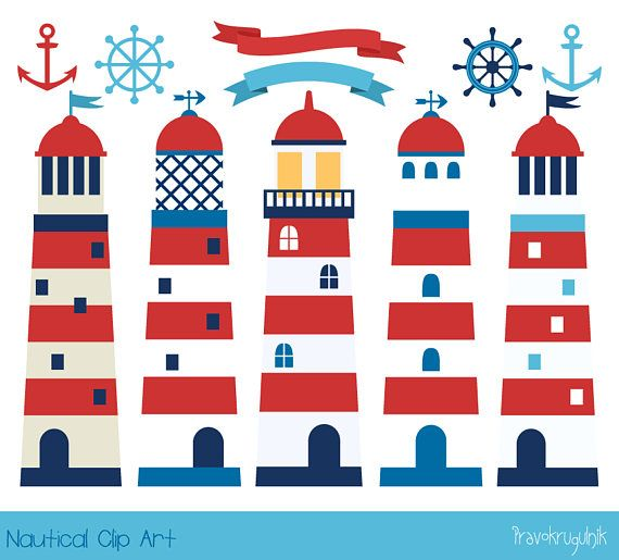 Free Lighthouses Clipart - Clip Art Pictures - Graphics - Illustrations