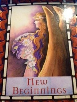 New Beginnings- Friday Card of the Day