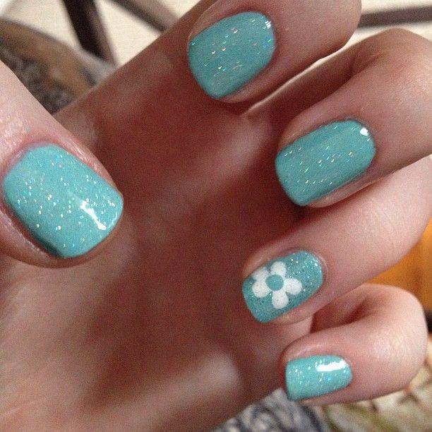 Tiffany Blue Gel Nail Polish: Kellywright58's Nails! Show Us Your Tips—tag Your Nail