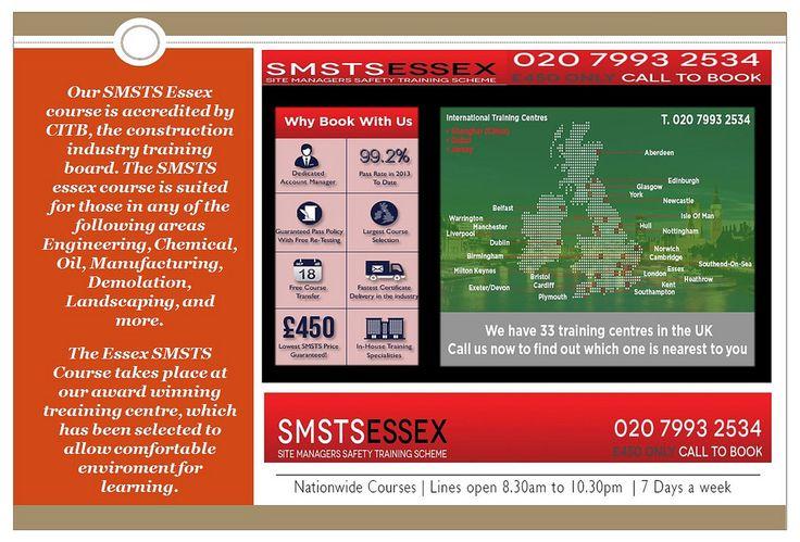 SMSTS Training Centre Colchester, UK Train, Colchester