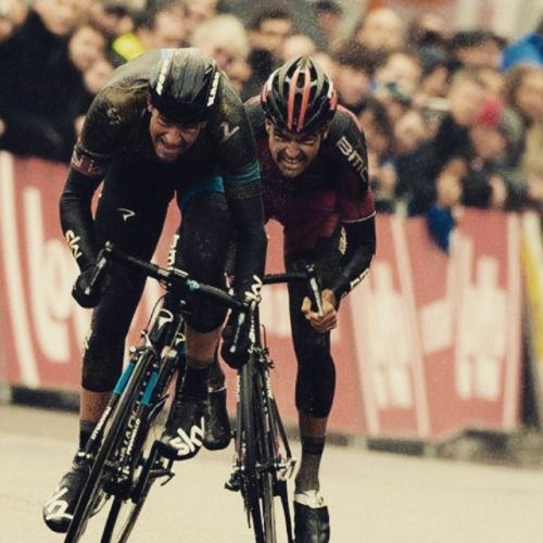bici-veloce:From ride4passion - Ian Stannard and @gregvanavermaet fighting for victory with passion #passion #procycling #cycling #race #instarace #instacycling #ride4passion http://ift.tt/1zMtk07Vive le Vélo