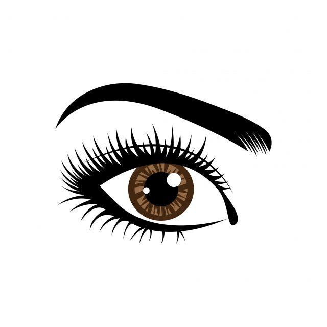 Eyelashes Logo Design Vector Free Logo Design Template Eyelash