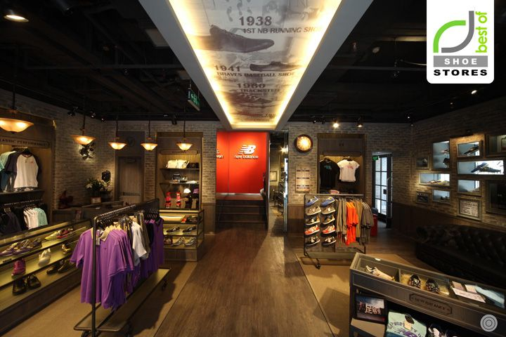 SHOE STORES! New Balance Experience Store, Beijing store design