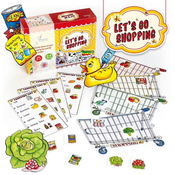 Let's Go Shopping Game - Phoenix gift GS03