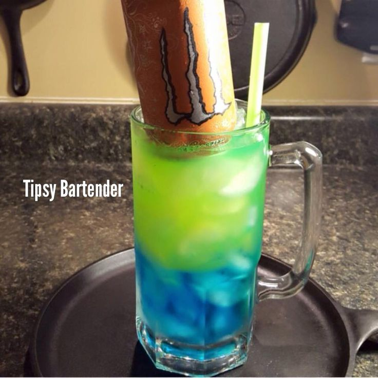 Trash Can Cocktail - For more delicious recipes and drinks, visit us here: www.tipsybartender.com