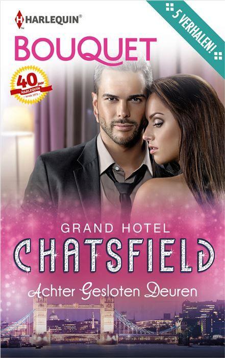 Achter gesloten dueren  In de luxesuites van het Grand Hotel Chatsfield gebeurt altijd wel iets opwindends... (1) KAMER 286 - Salim Segal heeft één nacht in een superluxe hotelkamer om Natalja ervan te overtuigen dat hij niet de man is die zij denkt dat hij is. Hij zal zorgen dat het een onvergetelijke nacht wordt! ( 2) KAMER 426 - Waarom is Chloe toch naar het feest gegaan dat Liam Hunter in zijn suite geeft? Ze haat de arrogante filmster! (3) KAMER 507 - Jenny is buitengesloten en staat nu…