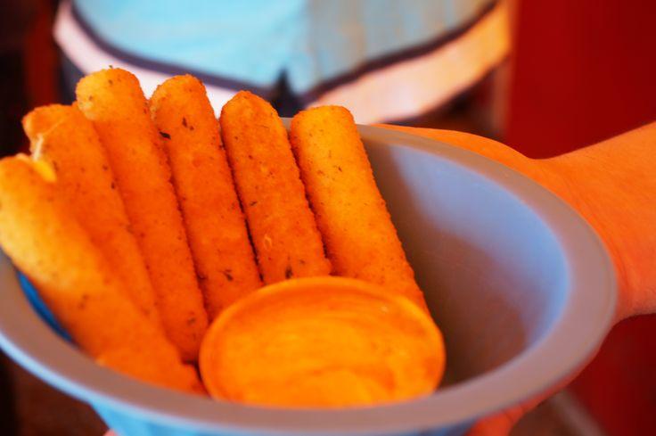 Dedos de queso! para botanear