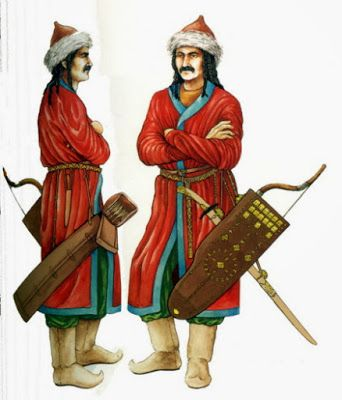 Magyar warrior, 10th century