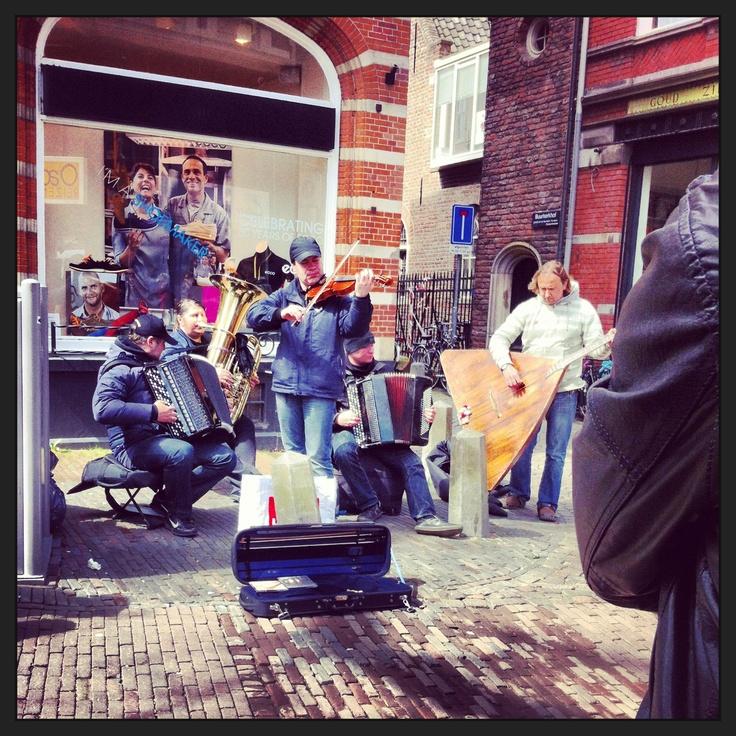 Amazing buskers- Utrecht holland