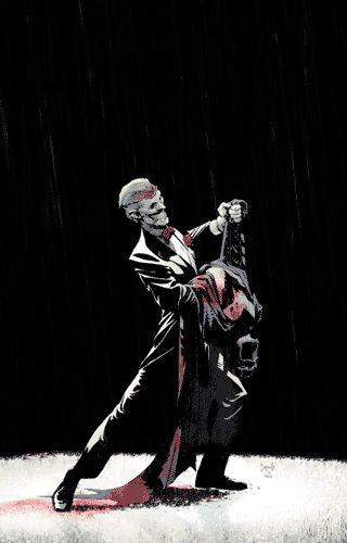 El animador ABVH creó estas llamativas imágenes animadas a partir de las ilustraciones originales de Greg Capullo y Patrick Gleason para la serie de cómics 'El regreso del Joker: La muerte de la familia'.