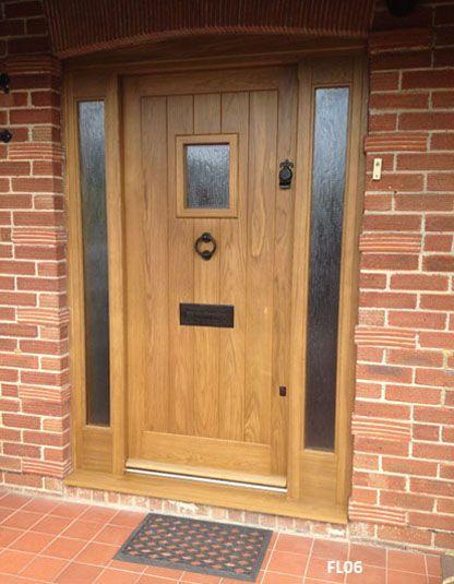 42 best white front door images on pinterest windows for Oak exterior doors