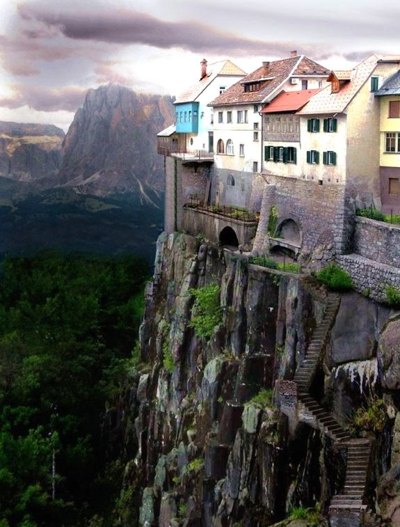 Travel to Castellfollit de la Roca, Spain and 4 other amazing towns perched on perilous cliff sides