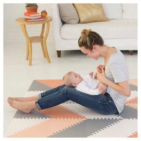 Skip Hop Activity Playmat - Grey/Peach : Target