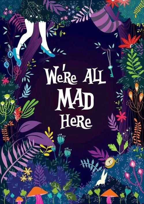 Алиса, Алиса в стране чудес, сумасшедшие, дисней, магия, обои