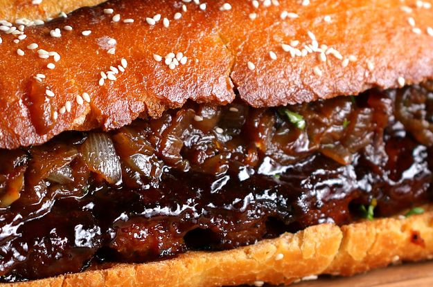 Boneless Babyback Rib Sandwich for a Crowd: This Giant BBQ Sandwich Is Everything You've Ever Wanted In Life