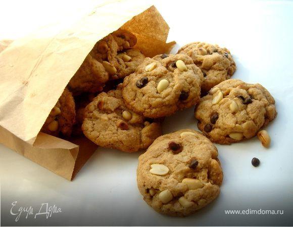 """Рецепт вкуснейшего печенья позаимствован из журнала""""Савёр"""".А арахисовое масло сделаем сами."""