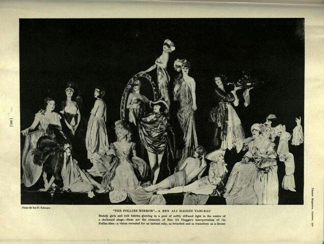 Pin by Phyllis Caldwell on Vintage Beauty | Ziegfeld girls