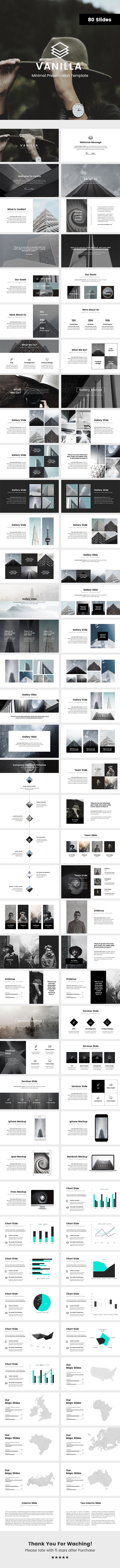 Vanilla Minimal Keynote Template  #infographic #portfolio • Download ➝ https://graphicriver.net/item/vanilla-minimal-keynote-template/18162605?ref=pxcr
