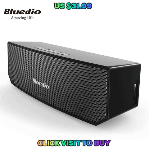 Best Bluedio BS-3 (Camel) Mini Bluetooth speaker Portable Wireless speaker Home Theater Party Speaker Sound System 3D stereo Music