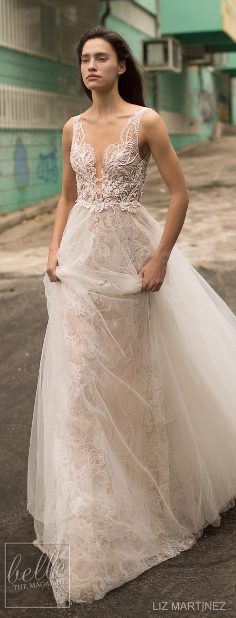 Wedding Dress by Liz Martinez 2018 Bridal Collection
