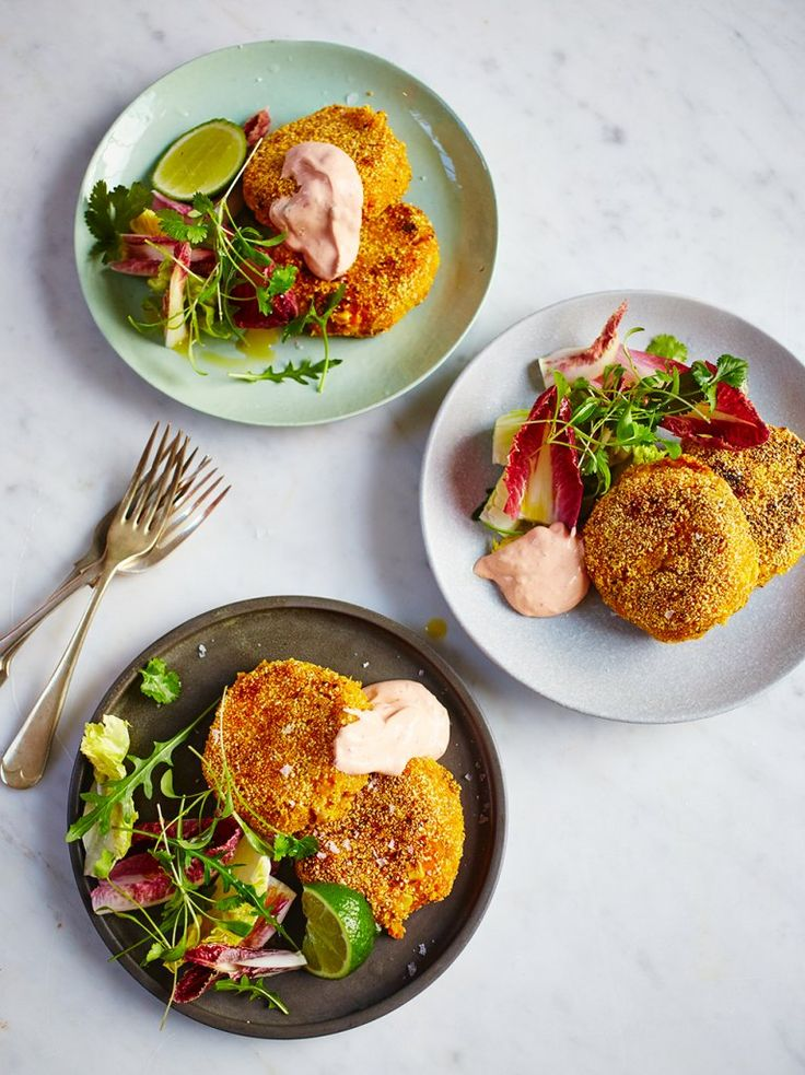 Mexican-Style Fish-Cakes | Fish Recipes | Jamie Oliver