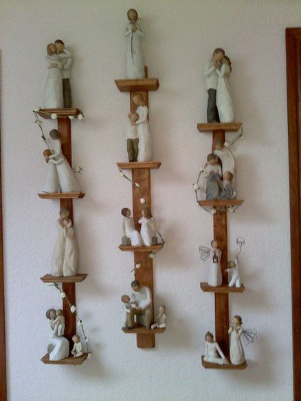 Willow Tree statue shelves