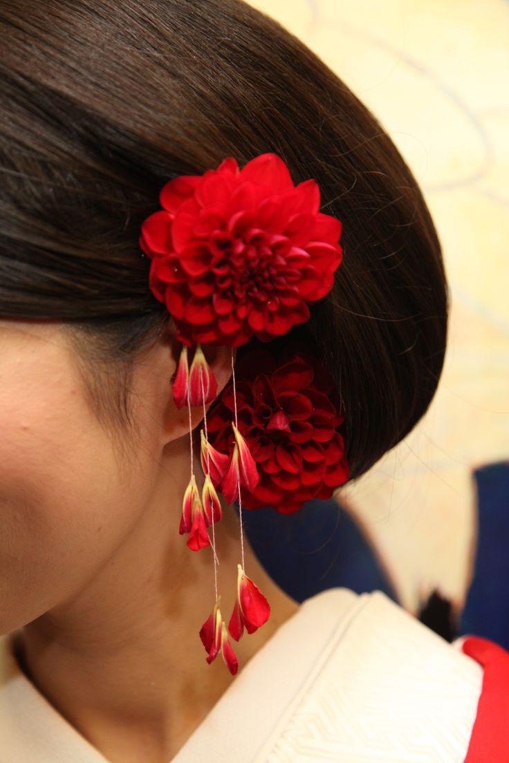 和の髪飾り