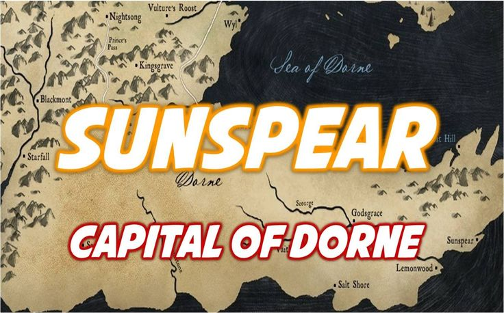 Sunspear: Capital of Dorne
