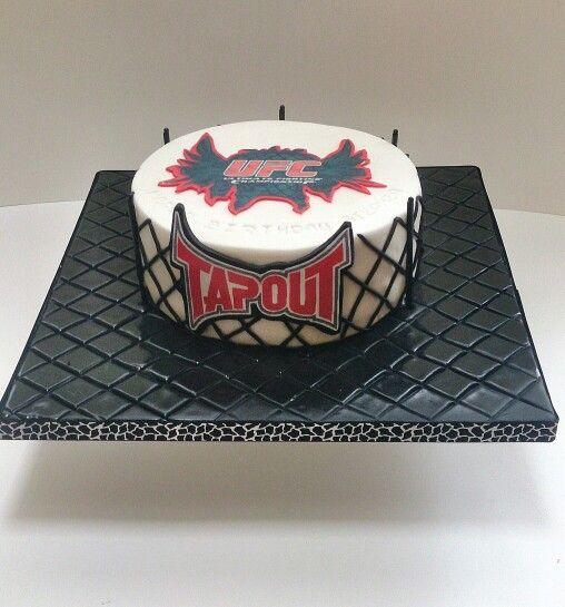 Ufc Cake Cakes Pinterest Cakes And Ufc