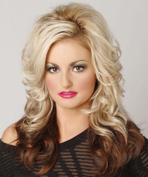 two tone hairstyle medium length