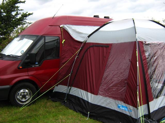 Campervan With Tent Attachment Diy Campervans