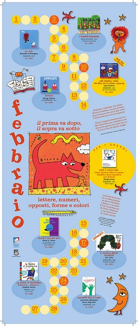 Calendario Nati per Leggere e Nati per Musica in Sardegna 2013: FEBBRAIO
