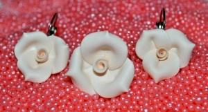 Set – trandafiri crem