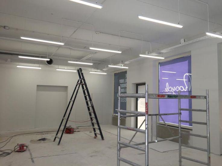 Wanden en plafonds spuiten Amsterdam - Airless latex geschilderd bij Rocycle