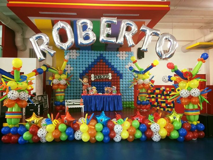 Best paw patrol birthday party images on pinterest