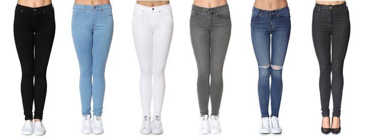 Dr Denim er de mest populære bukser til kvinder. Serien af bukser fra Dr Denim er Lexi, Plenty, Solitair, hvor Plenty er den mest populære buks.