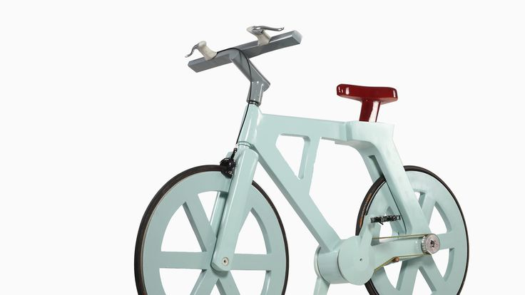 This $9 Cardboard Bike Can Support Riders Up To 485lbs