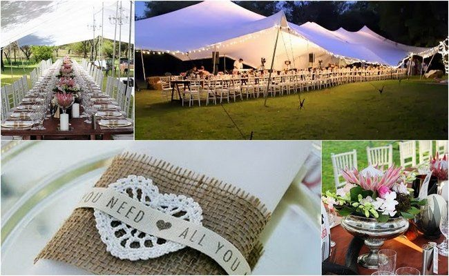 Bedouin tent wedding with a true South African touch.