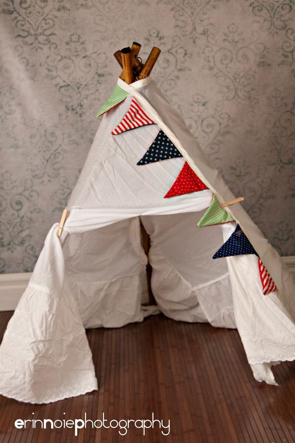 DIY Tutorial: Teepee