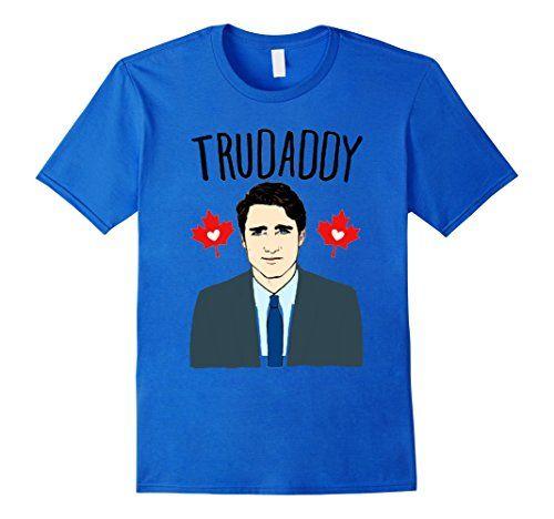 Men's JUSTIN TRUDEAU IS MY CANADADDY TRUDADDY T-SHIRT 2XL... https://www.amazon.com/dp/B06WGY66TW/ref=cm_sw_r_pi_dp_x_alIUyb16DVNW5