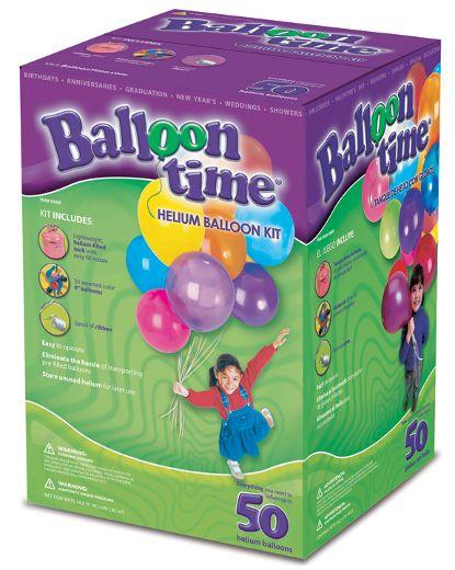 Kit Botija de Hélio 50 baloes
