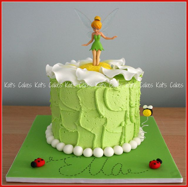 Tinkerbell cake by Kat's Cakes