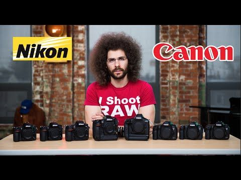 Nikon VS Canon Which To Buy: The ULTIMATE Battle: | Fro Knows Photo