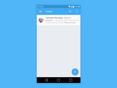 Twitter Android L