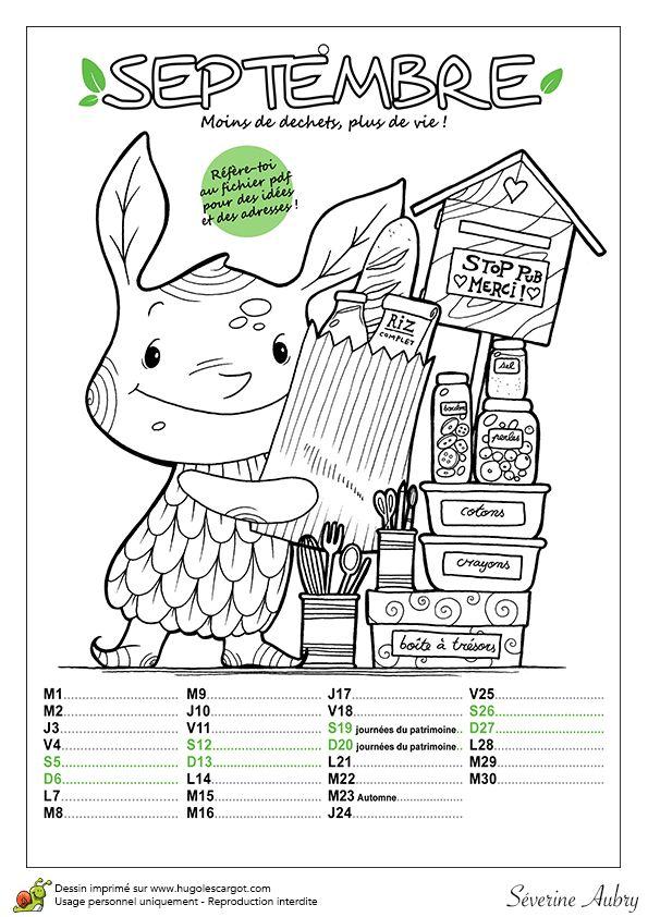 calendrier ecolo septembre 2015