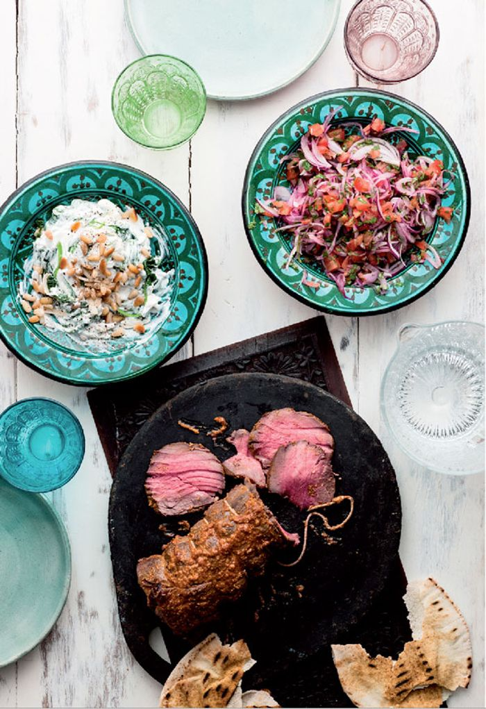 A Beef Mezze recipe from the Mighty Spice Express