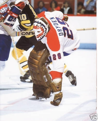 Ken Dryden, Montreal Canadiens One of the best damn goalies there were