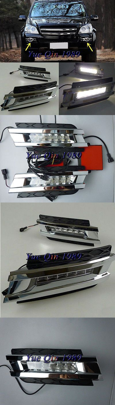 Nice Mercedes: Motors Parts And Accessories: 2X Led Daytime Running Light Drl Fog Lamp For Merc...  Motors Parts And Accessories Check more at http://24car.top/2017/2017/04/28/mercedes-motors-parts-and-accessories-2x-led-daytime-running-light-drl-fog-lamp-for-merc-motors-parts-and-accessories/