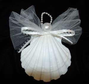 Engel aus Venus-Muschel